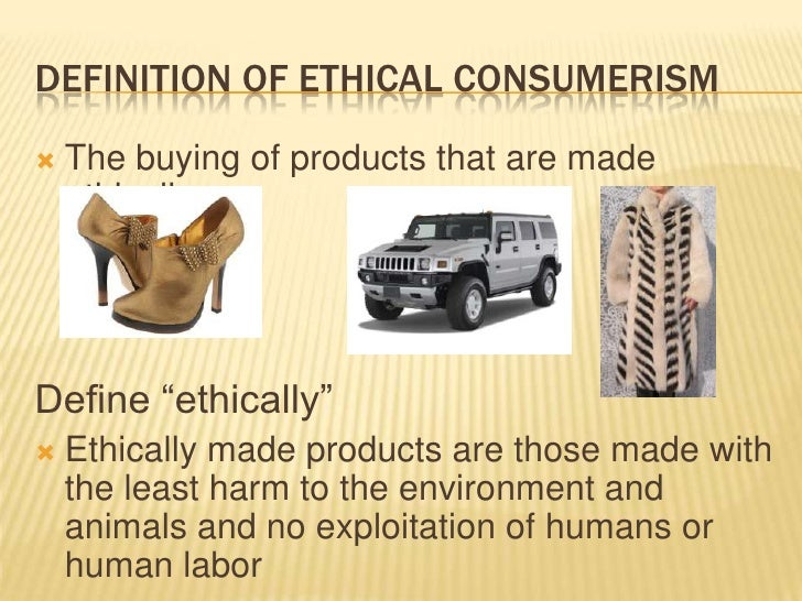 """ethical consumerism We've been talking this month about the relationship that millennials have (or don't have) with consumerism during our exploration, you've certainly heard us use the term """"ethical consumer."""