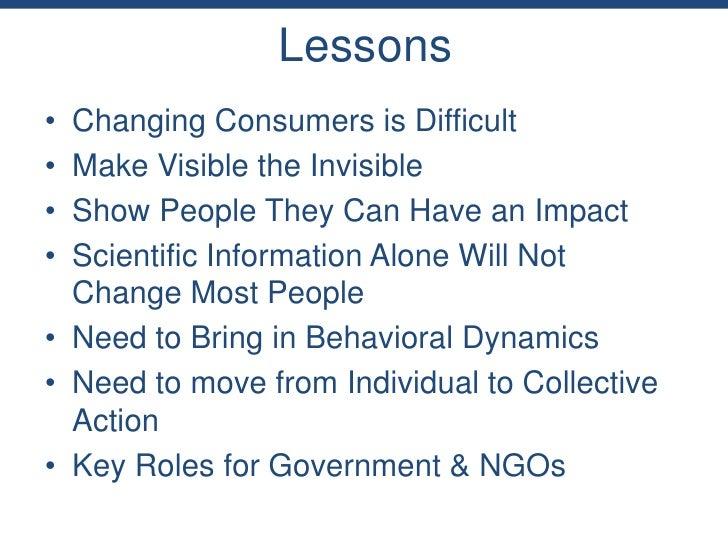 Ethical Consumption - MIT & Boston Review - Nov. 3, 2011