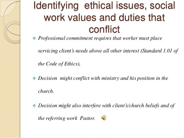 Ethical issues in the workplace essay