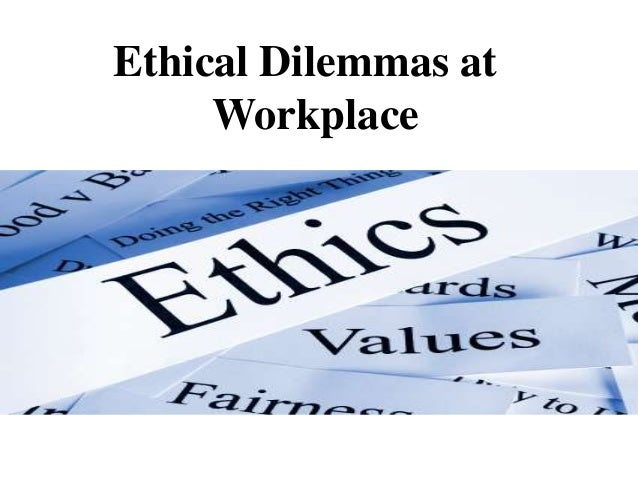 ethical dilemma essay