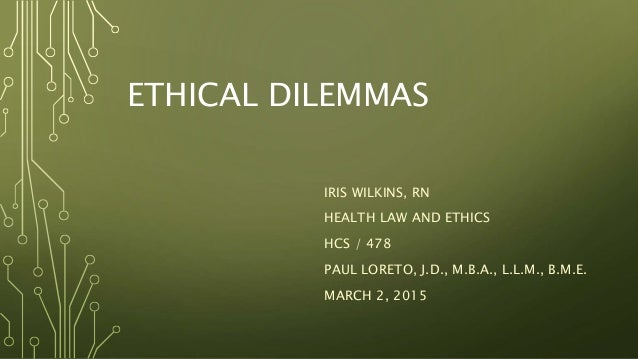 ethical dilemmas 3 essay This essay will describe ethical dilemmas and  this is also called an ethical paradox the ethical dilemma in this case is confidentiality and release.
