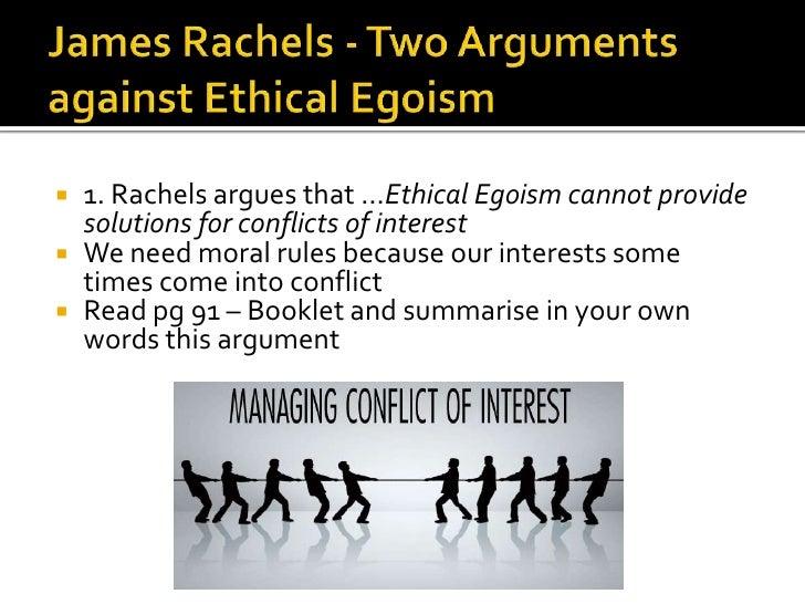 Ethical egoism essay conclusion