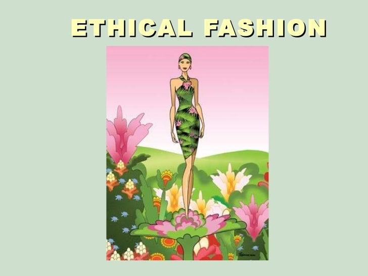 ethical fashion essay