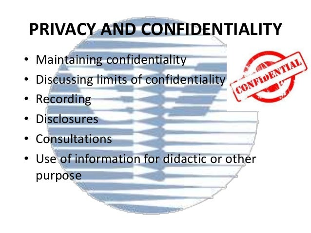 legal and ethical tensions between maintaining confidentiality and sharing information Sharing information from dna sequencing, databanks and repositories,  it  helps establish trust between the research participant and the researcher  the  report sets out three fundamental ethical principles: respect for persons,  beneficence,  all studies require protecting privacy and maintaining  confidentiality of data.