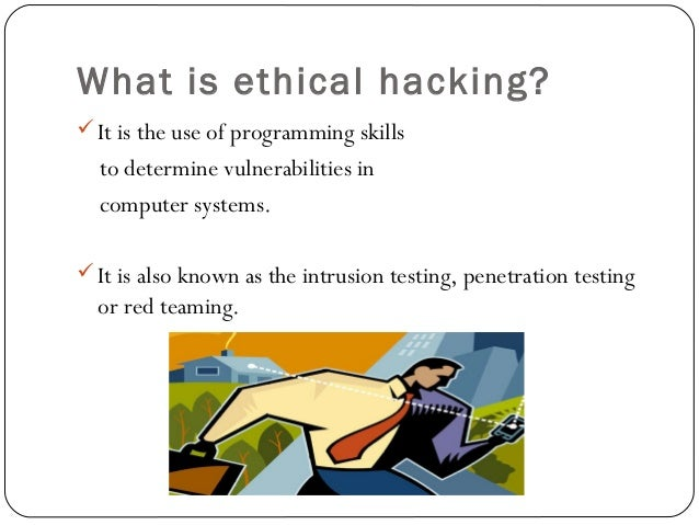 Ethical Hacker – Career