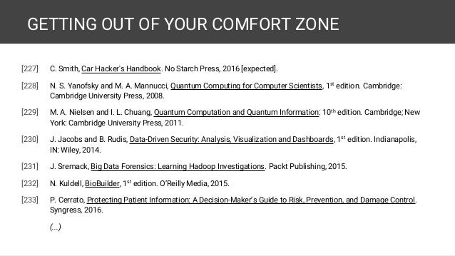 GETTING OUT OF YOUR COMFORT ZONE 61 227 C Smith Car Hackers Handbook
