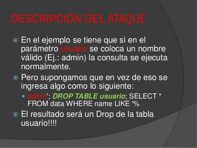 Ethical hacking course sql injection - Sql injection drop table example ...