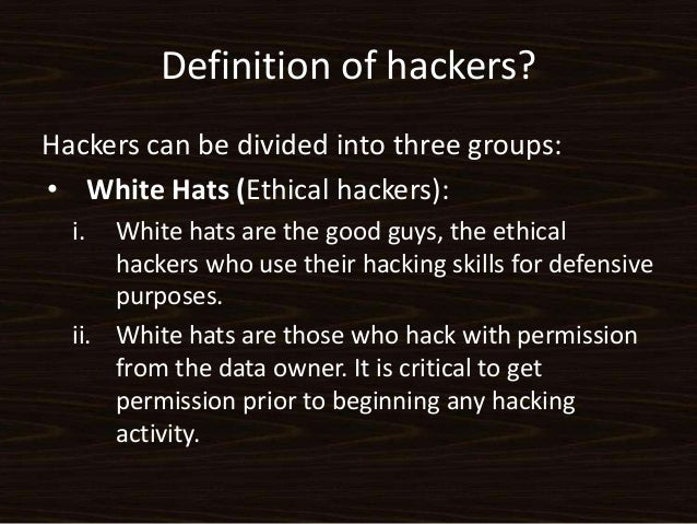 ethical issues with hacking The ethical hacker may not know or, more importantly, may not care about the laws that have been broken  ian sutherland is a british crime thriller author .