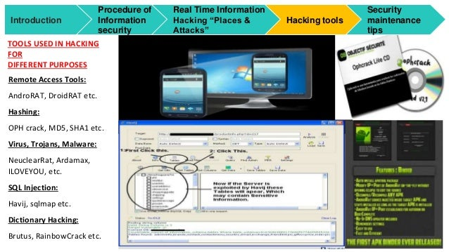 Ethical hacking for information security