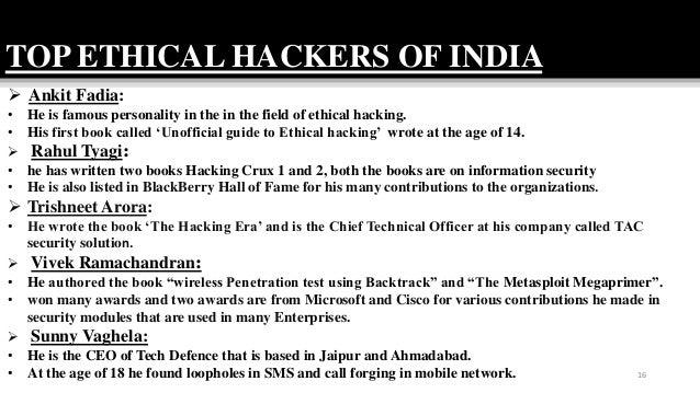 Ethical hacking in india d saikumar pm-2016-404,