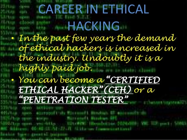 ethics of hacking the internet Free research that covers essay plan template ethics in hacking name of writer writer's id part 1: introduction the introduction gives details about the development.