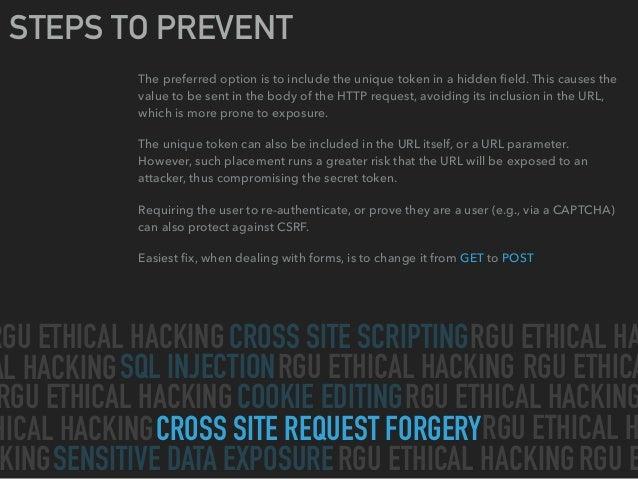 Hacking the Web Slide 11