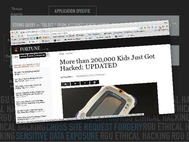Hacking the Web Slide 16