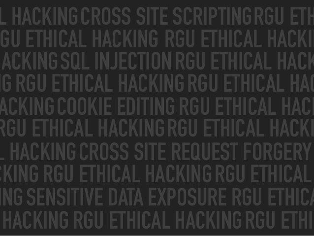 Hacking the Web Slide 2