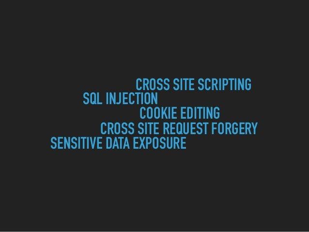 Hacking the Web Slide 20