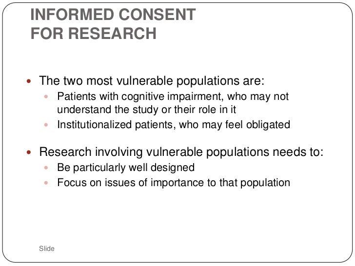 essays informed consent