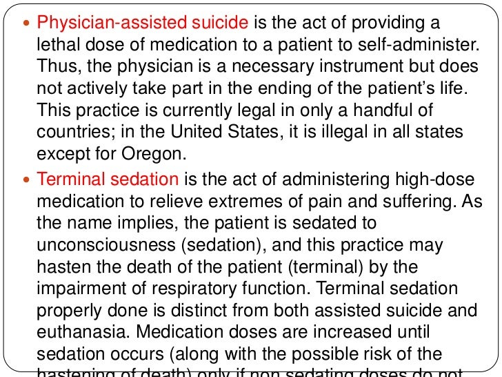 the ethical issues of legalizing voluntary euthanasia in the united states Euthanasia basic issues video- active euthanasia voluntary, well considered and the patient has unremitting pain is illegal throughout the united states update on netherlands.