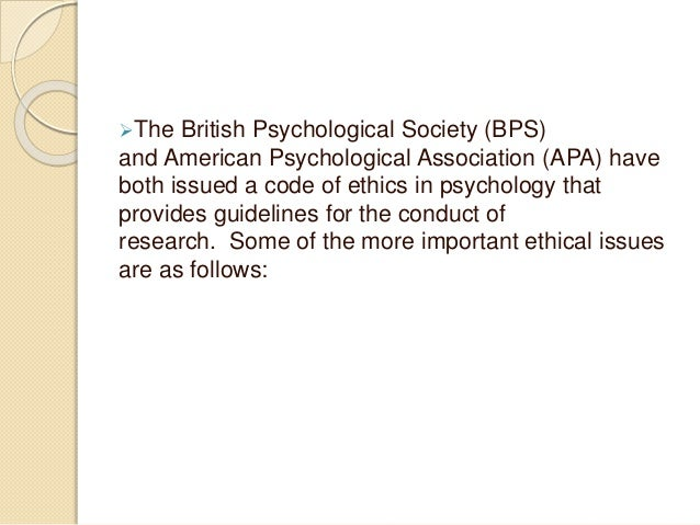 ethical problems psychologists face when involved in psychological investigations Empirical and ethical problems  an industry-wide recognition of the shortcomings of forensic child custody  some psychologists defended that psychological.