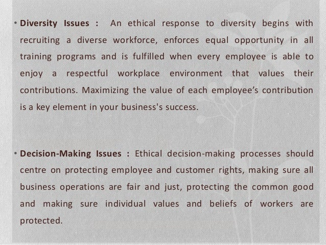 Ethics at Work (Issues in Business Ethics)