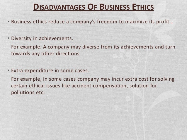ethical issues in organization Aspects of organizational ethics include fair and uniform treatment, valuing social responsibility and more.