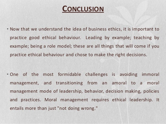 ethics and social responsibility in business