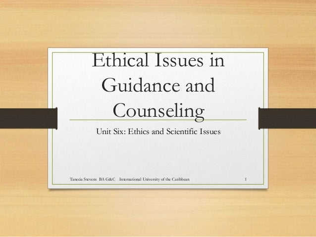 ethical issues in counselling essay