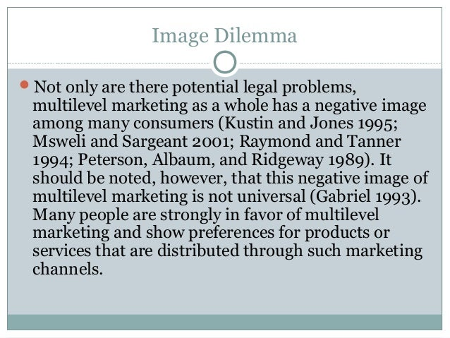 The Ethics of Multi-Level Marketing - Why it IS a Scam