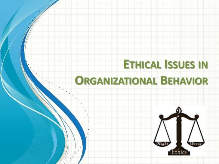 ethical organization profile Improving ethics quality in health care  reasons that are supported by ethical values in an organization with a healthy ethical environment and culture,.