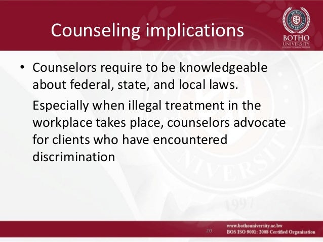 prejudice and ethics in counselling By addressing biases that clients bring to counseling — biases that have the  potential to be harmful to  addressing prejudice: is it ethical.