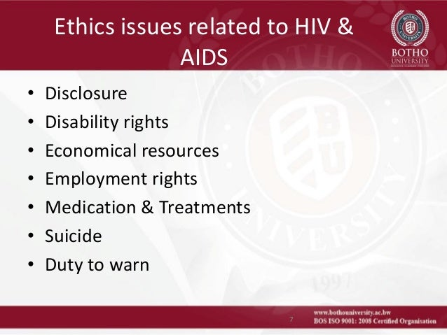 ethical dilemma working with hiv positive Ethical dilemma in hiv counselling cases  experience of an ethical dilemma while working as a  ethical dilemma working with hiv positive.