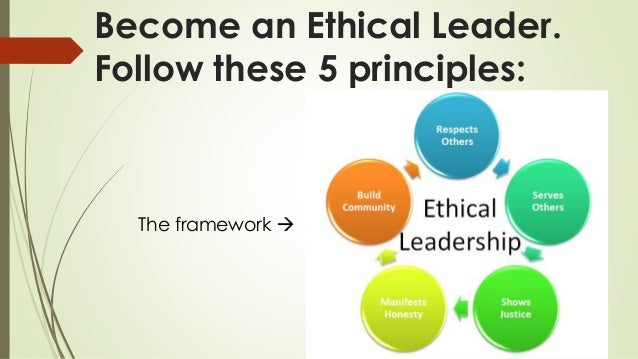 leader ethics The leader's ethics self-awareness tool is a tool for your personal use as a leader , to help give you a sense of how you perceive ethics in your.