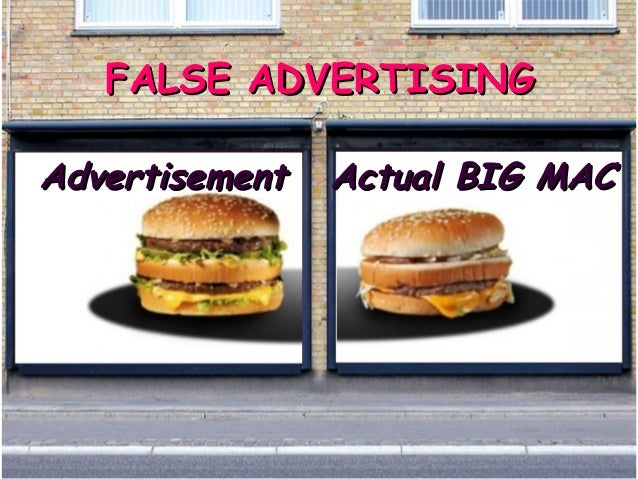 false advertising can you trust advertisements These consumer concerns present an opportunity for you to build on consumer trust  advertisements if you're advertising  false or deceptive online advertising.