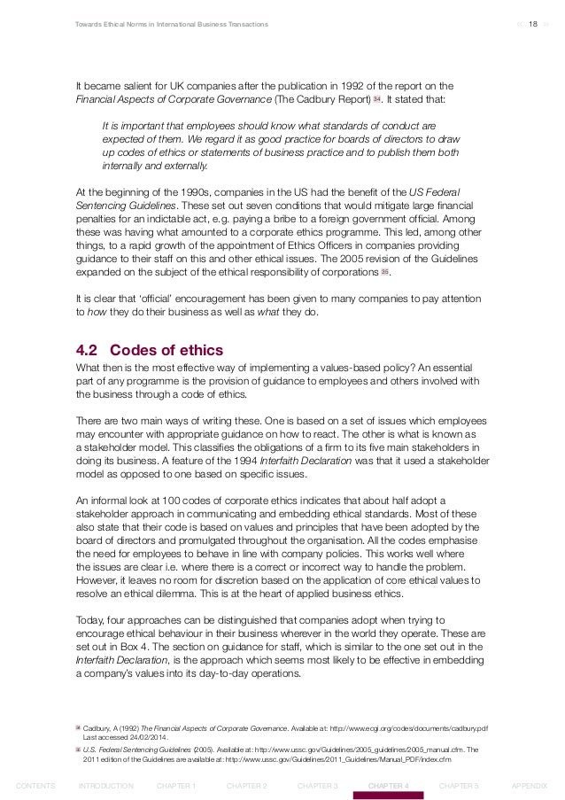 Ethical norms in business 20 18towards ethical norms in international business malvernweather Choice Image