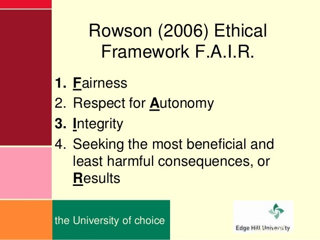 beauchamp and childress four principles framework Principlism emerged as a foundation for ethical decision-making principles were expansive enough to be shared by all rational individuals, regardless of their background and individual beliefs this approach continued into the 20th century and was popularized by two bioethicists, tom beauchamp and james childress in.