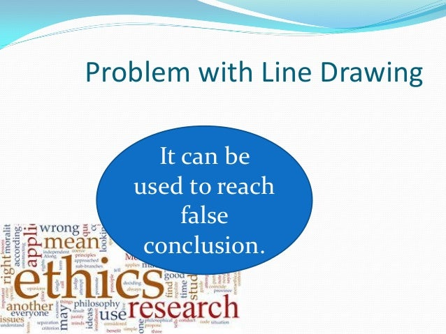 Line Drawing Technique Ethics : Ethical problem solving techniques note