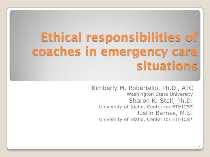 Kimberly M. Robertello, Ph.D., ATC              Washington State University               Sharon K. Stoll, Ph.D.   Univers...