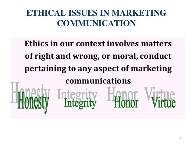 Ethical issues in advertising essay
