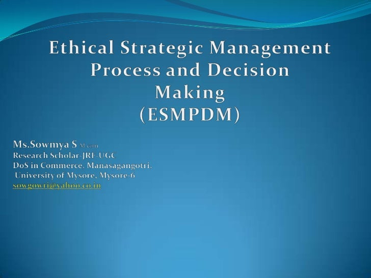 ethical change management The ethics of managing change although many consider management to be a fairly technical endeavor, there are important value questions that affect almost everything that managers do.