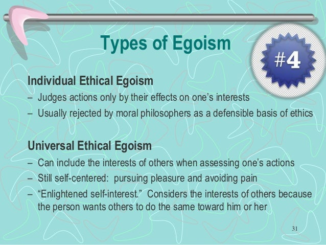 what is egoism in business ethics