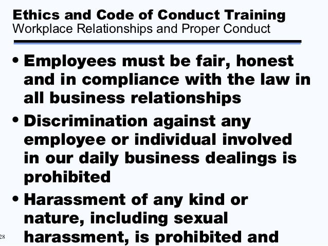 Ethics And Code Of ...