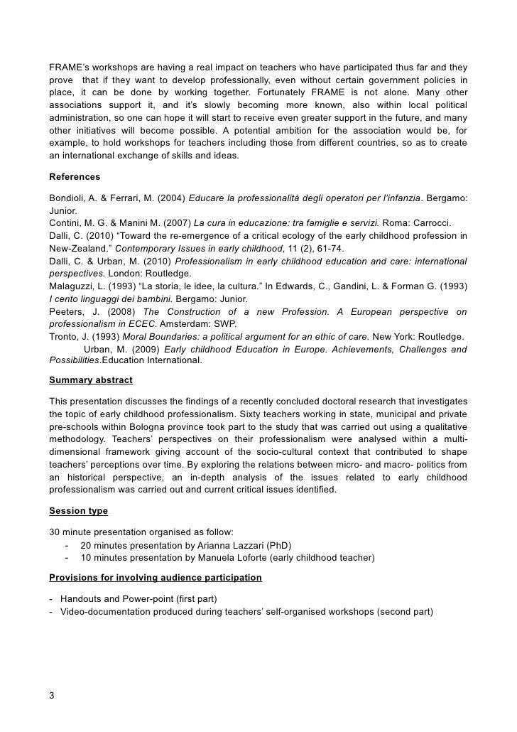 ethic politics professionalism ecec paper rece   3