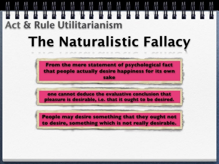 the naturalistic fallacy Fallacies a fallacy is a kind of there is considerable disagreement among philosophers regarding what sorts of arguments the term naturalistic fallacy.