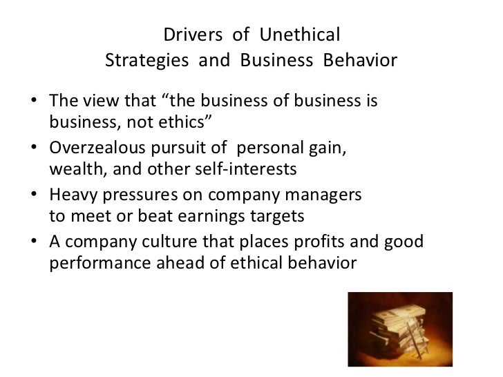importance of ethical behavior in corporate business Discover the 12 examples of business ethics that and outline the kind of behavior your word is one of the most important tools in your arsenal as a business.