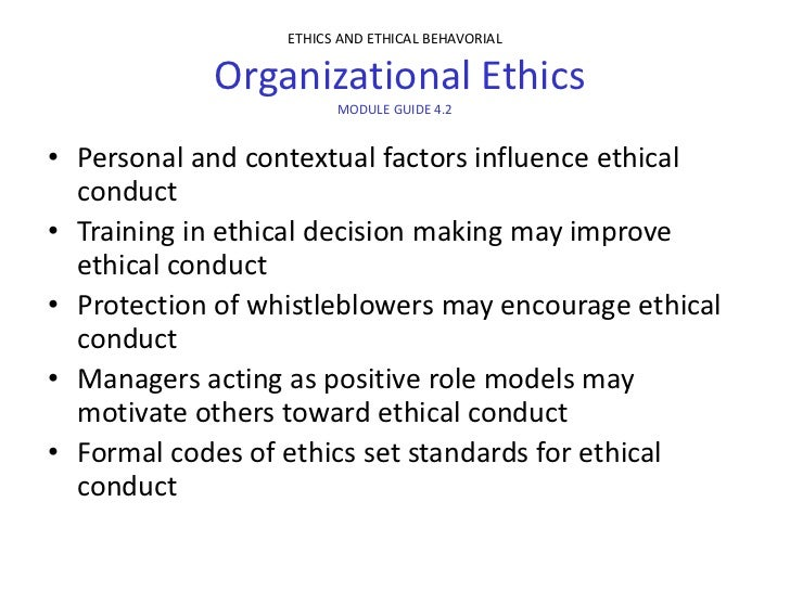 Family influence in individual ethics