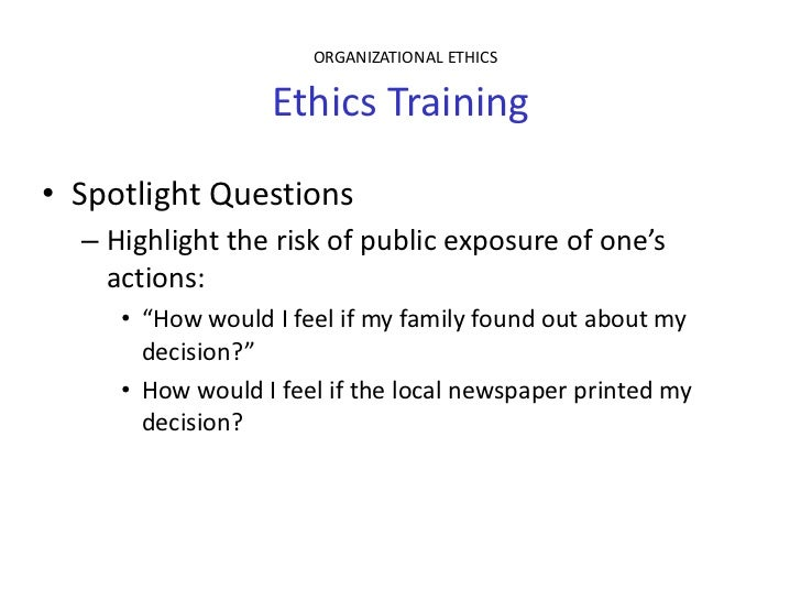my ethical influence Abstract in the present study, a model of antecedents and outcomes of ethical behavior in work organizations was developed and tested influences on ethical behavior (eg, dubinsky and ingram, 1984 hunt and if a manager in my company is discovered to have engaged in unethical behavior that results primarily in.