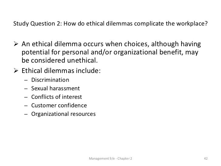 Ethical Dilemma Essays (Examples)