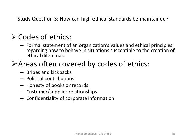 Reaction Paper: Does ethics really matter?