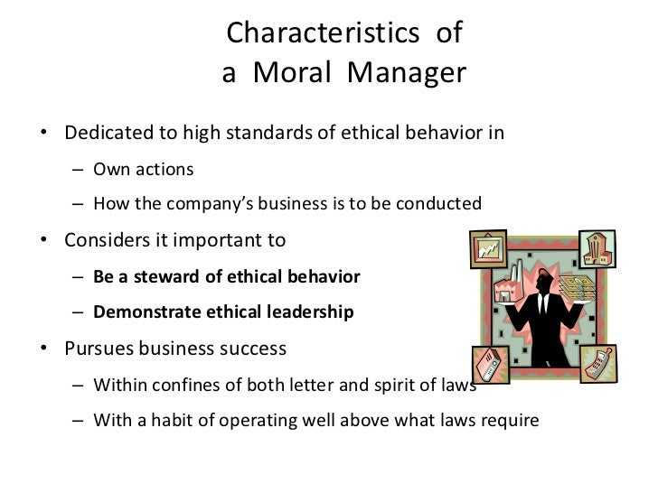 Ethics moral principles amoral manager 53 characteristics of a fandeluxe Choice Image