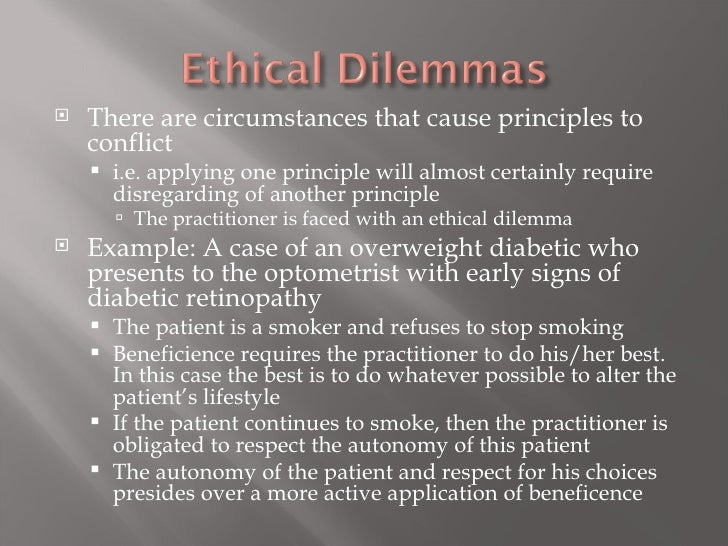 Example of ethical dilemma in business today