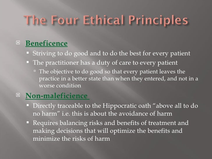 an analysis of the medical ethic and autonomy The medical futility debate is, at bottom, a conflict between respect for patient autonomy, on one hand, and physician beneficence and distributive justice, on the other.